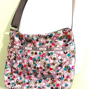 Lesportsac Classic Collection Berry Crossbody Hobo
